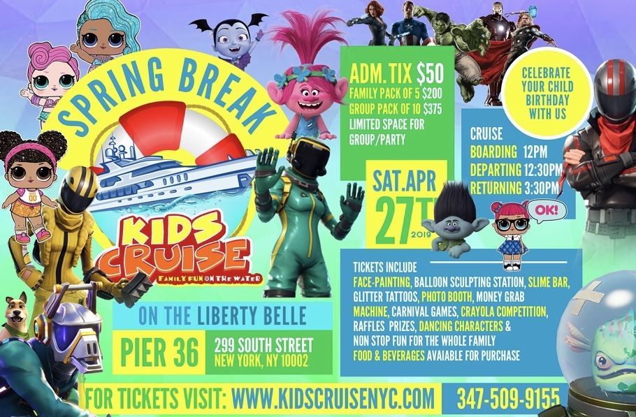 SPRING BREAK KIDS CRUISE