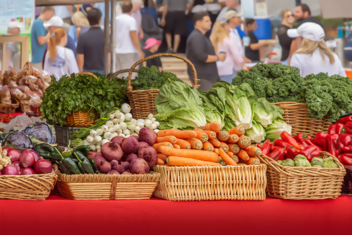 Shop & Cook: Union Square Farmer's Market