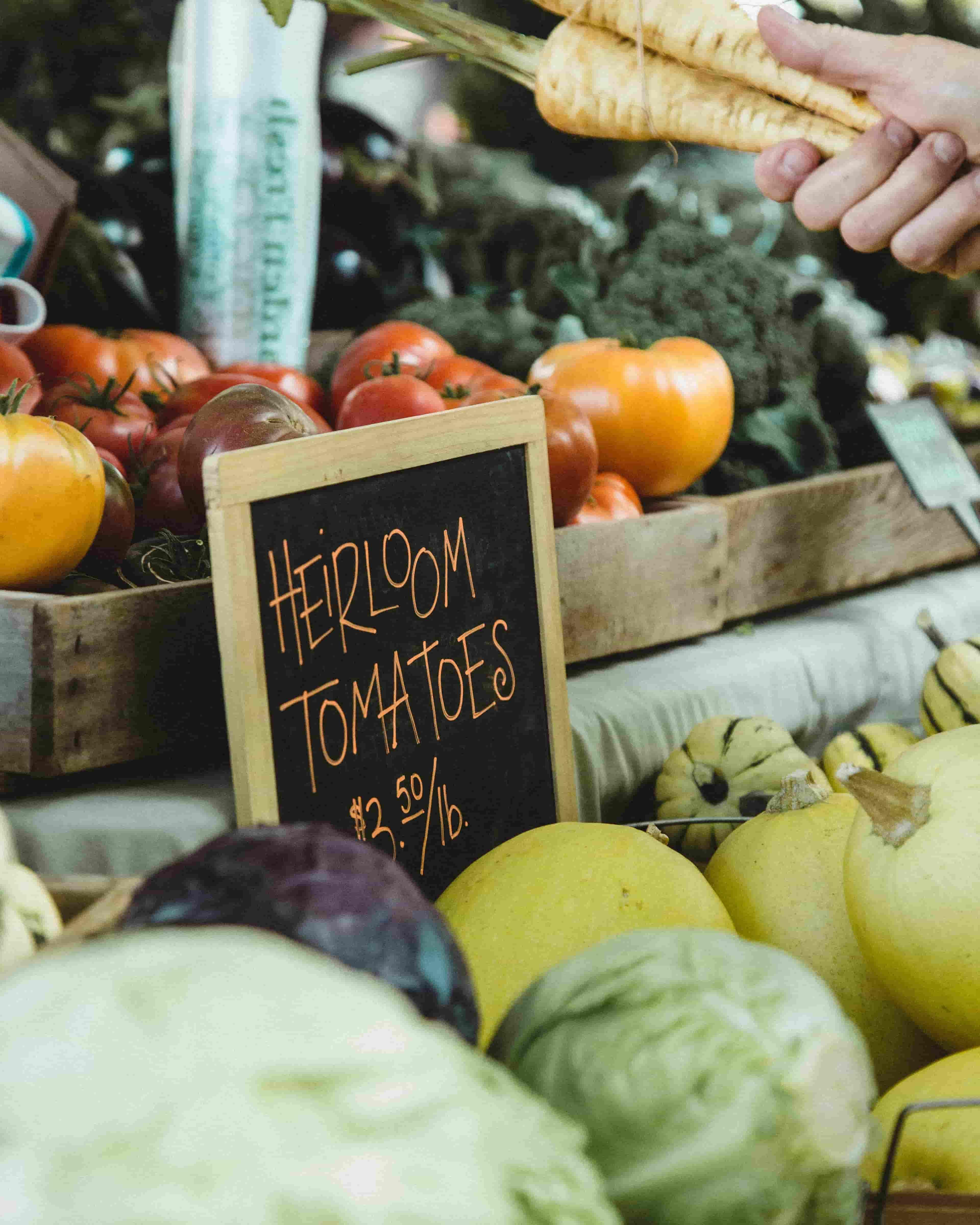 Shop & Cook: Tompkins Square Farmer's Market