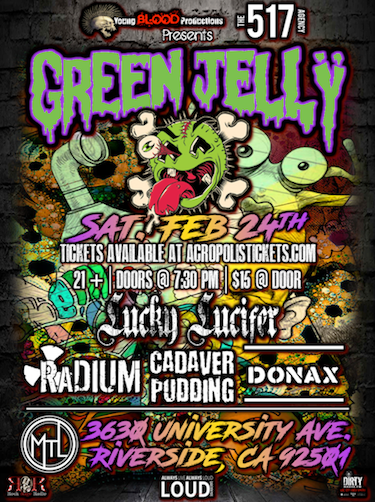 GREEN JELLY live at MTL