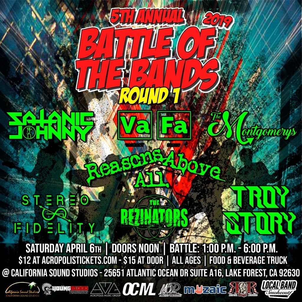 Wright Records 5th Annual Battle of the Bands: Round 1, Show #6