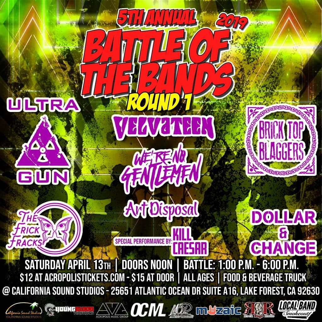 Wright Records 5th Annual Battle of the Bands: Round 1, Show #7