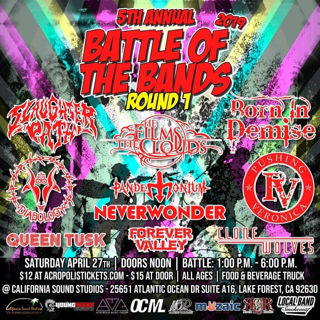 Wright Records 5th Annual Battle of the Bands: Round 1, Show #9