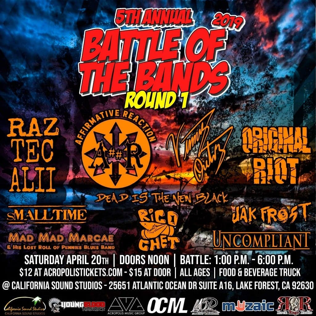 Wright Records 5th Annual Battle of the Bands: Round 1, Show #8