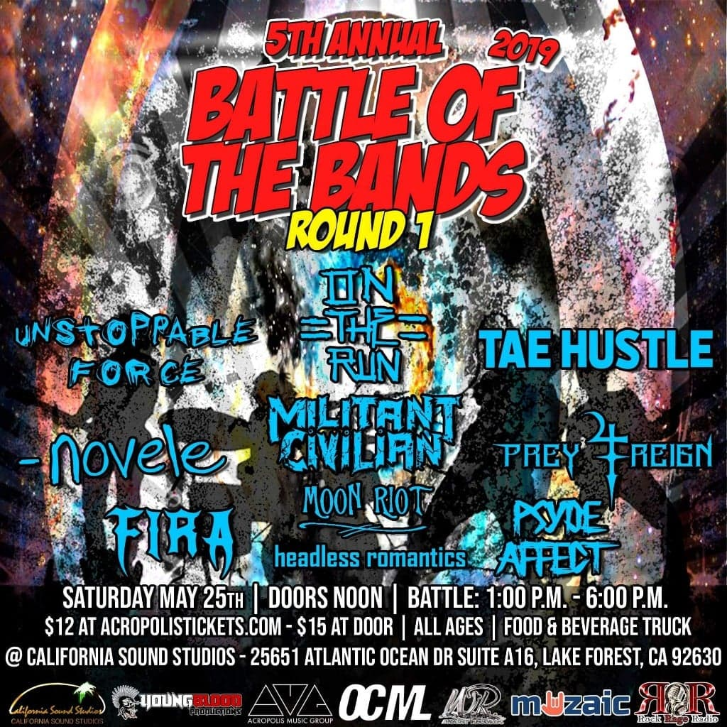 Wright Records 5th Annual Battle of the Bands: Round 1, Show #12
