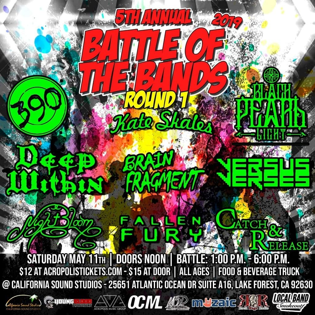 Wright Records 5th Annual Battle of the Bands: Round 1, Show #11
