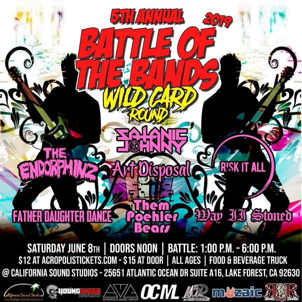 Wright Records 5th Annual Battle of the Bands: WILD CARD ROUND