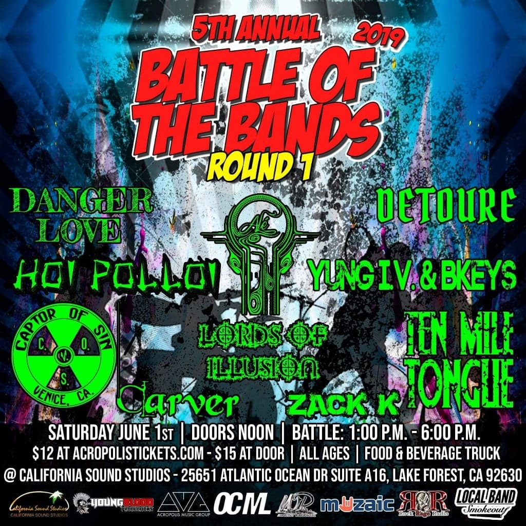 Wright Records 5th Annual Battle of the Bands: Round 1, Show #13