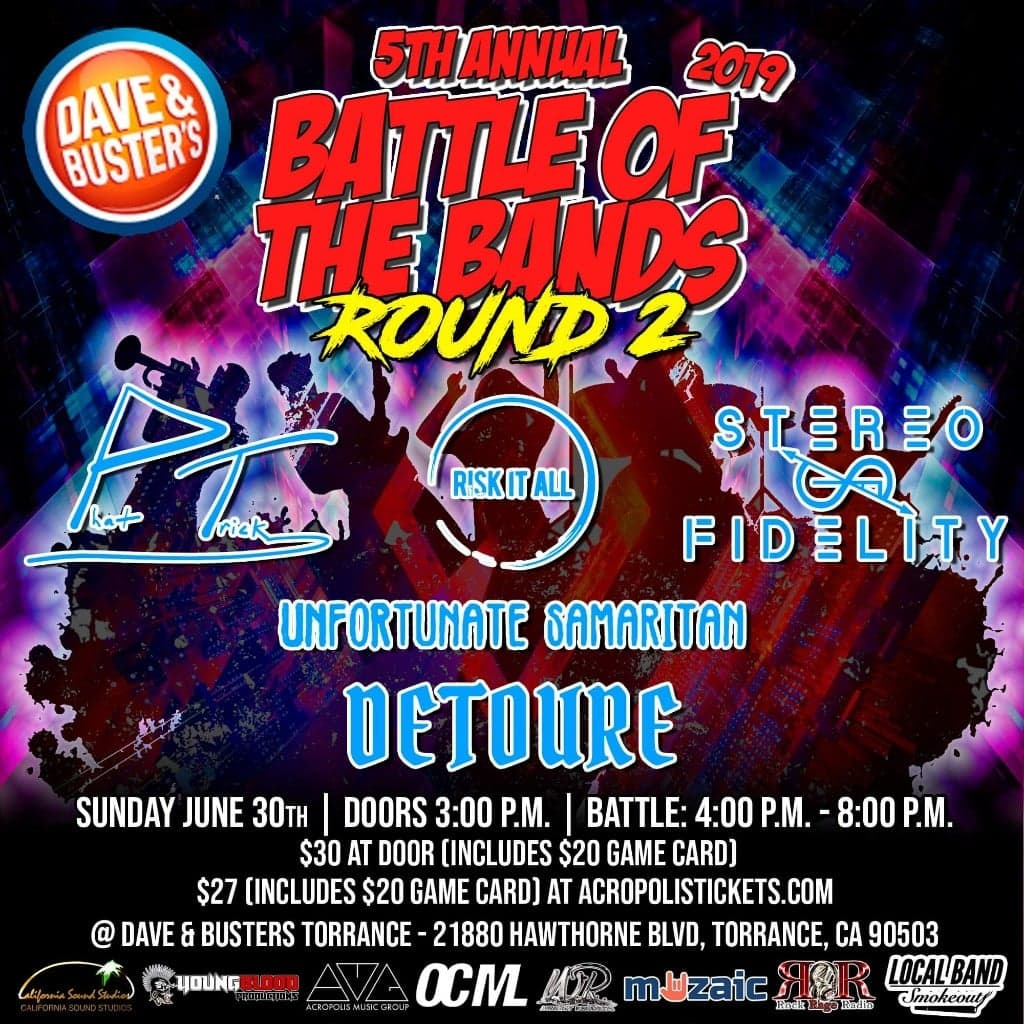 Wright Records 5th Annual Battle of the Bands: Round 2, TORRANCE