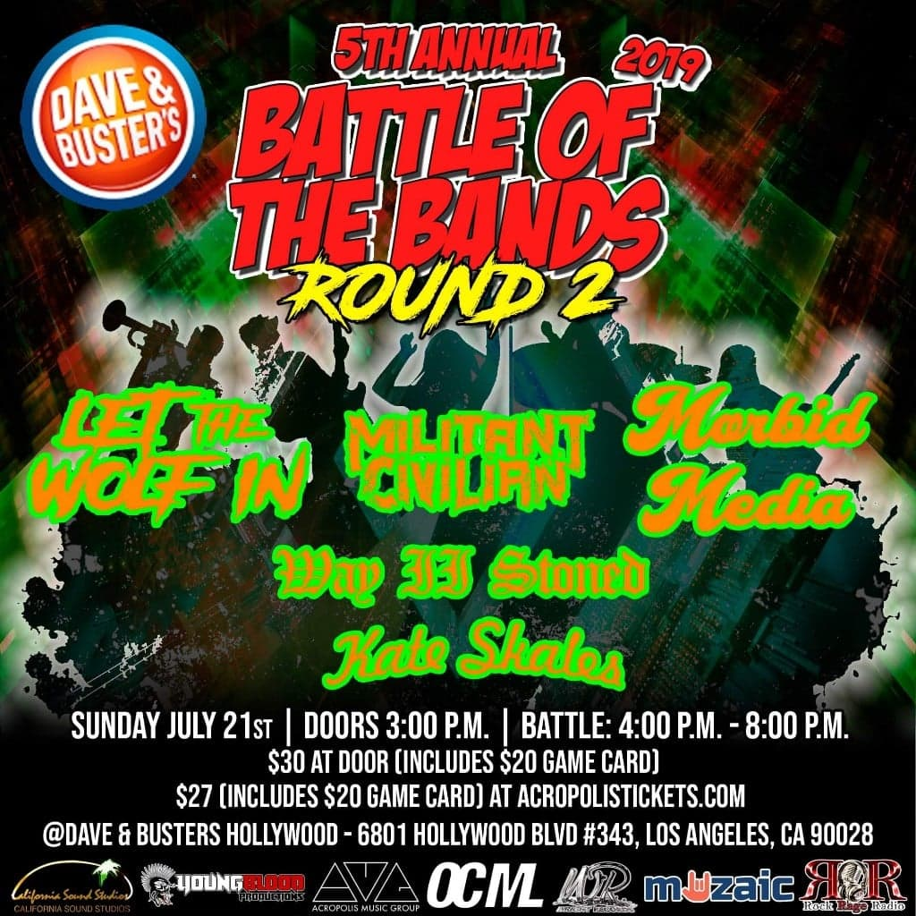 Wright Records 5th Annual Battle of the Bands: Round 2, HOLLYWOOD