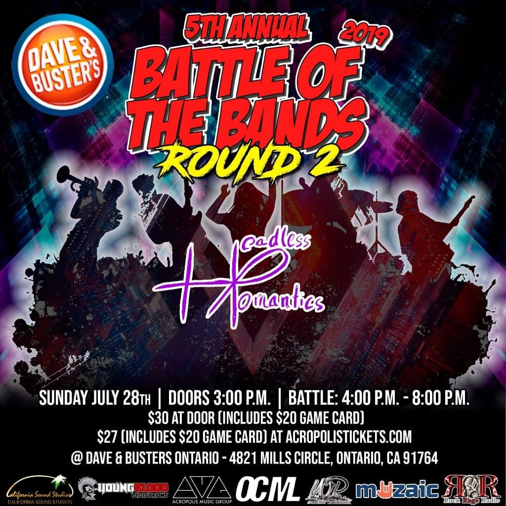 Wright Records 5th Annual Battle of the Bands: Round 2, ONTARIO MILLS #2
