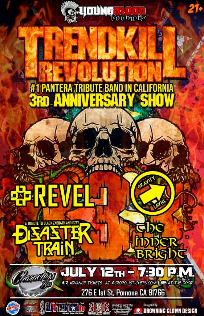 Trendkill Revolution's 3rd Anniversary Show plus special guests
