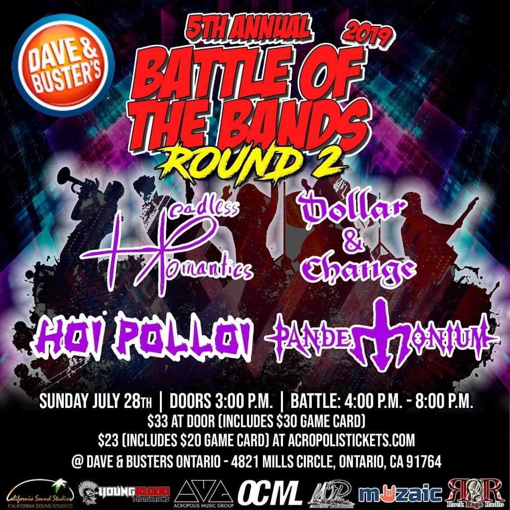 Wright Records 5th Annual Battle of the Bands: Round 2, ONTARIO MILLS