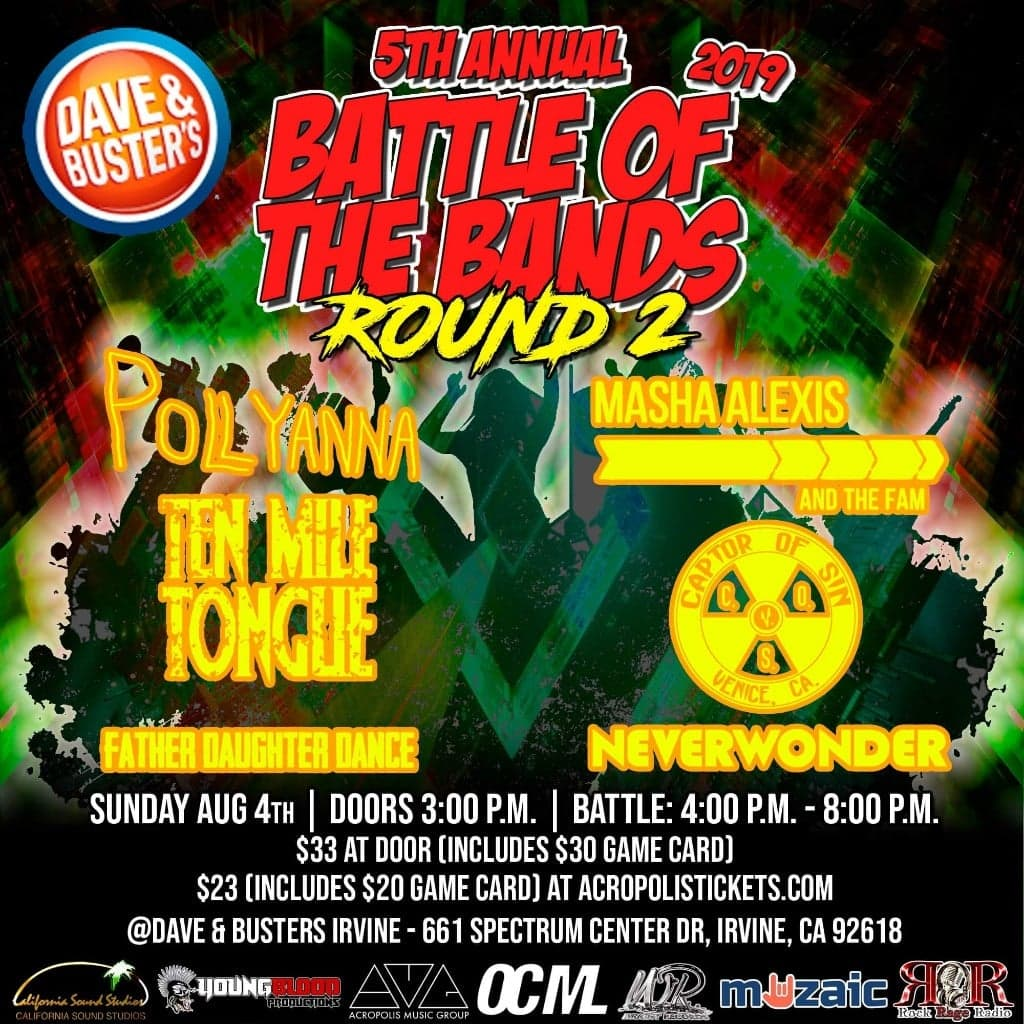 Wright Records 5th Annual Battle of the Bands: Round 2, IRVINE