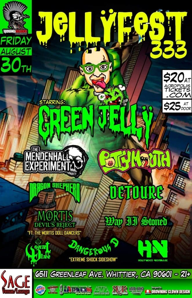 JELLYFEST 333 starring Green Jelly & Friends!