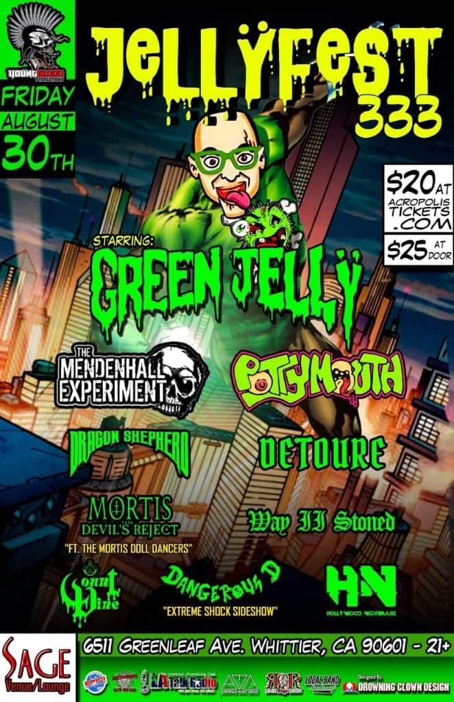 JELLYFEST 333 starring Green Jelly & Friends!