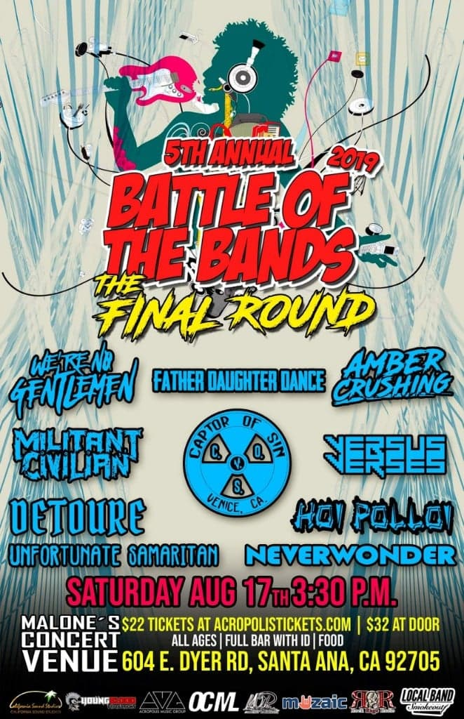 Wright Records 5th Annual Battle of the Bands: THE FINAL ROUND