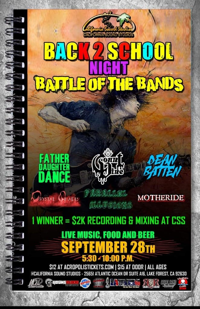 BATTLE OF THE BANDS: Back 2 School Night