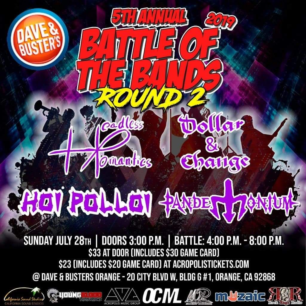 Wright Records 5th Annual Battle of the Bands: Round 2, ORANGE #3