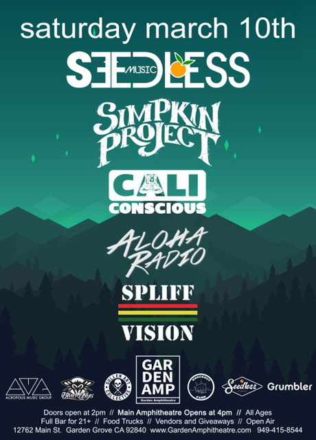 Seedless at The Garden Amp