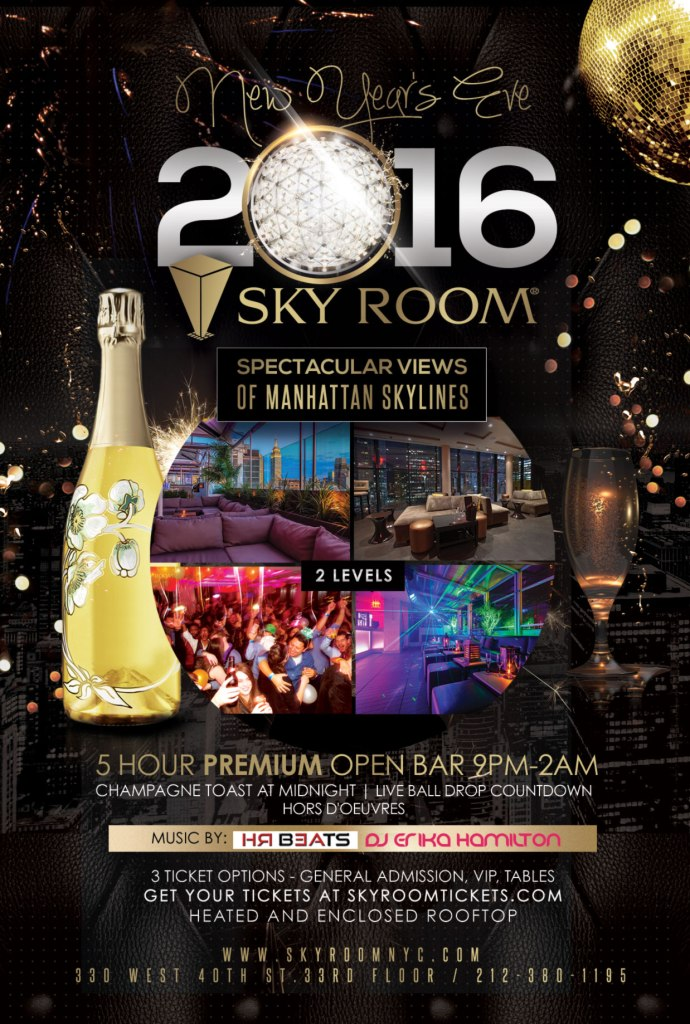 Sky Room Times Square New Year S Eve 2016 At Sky Room