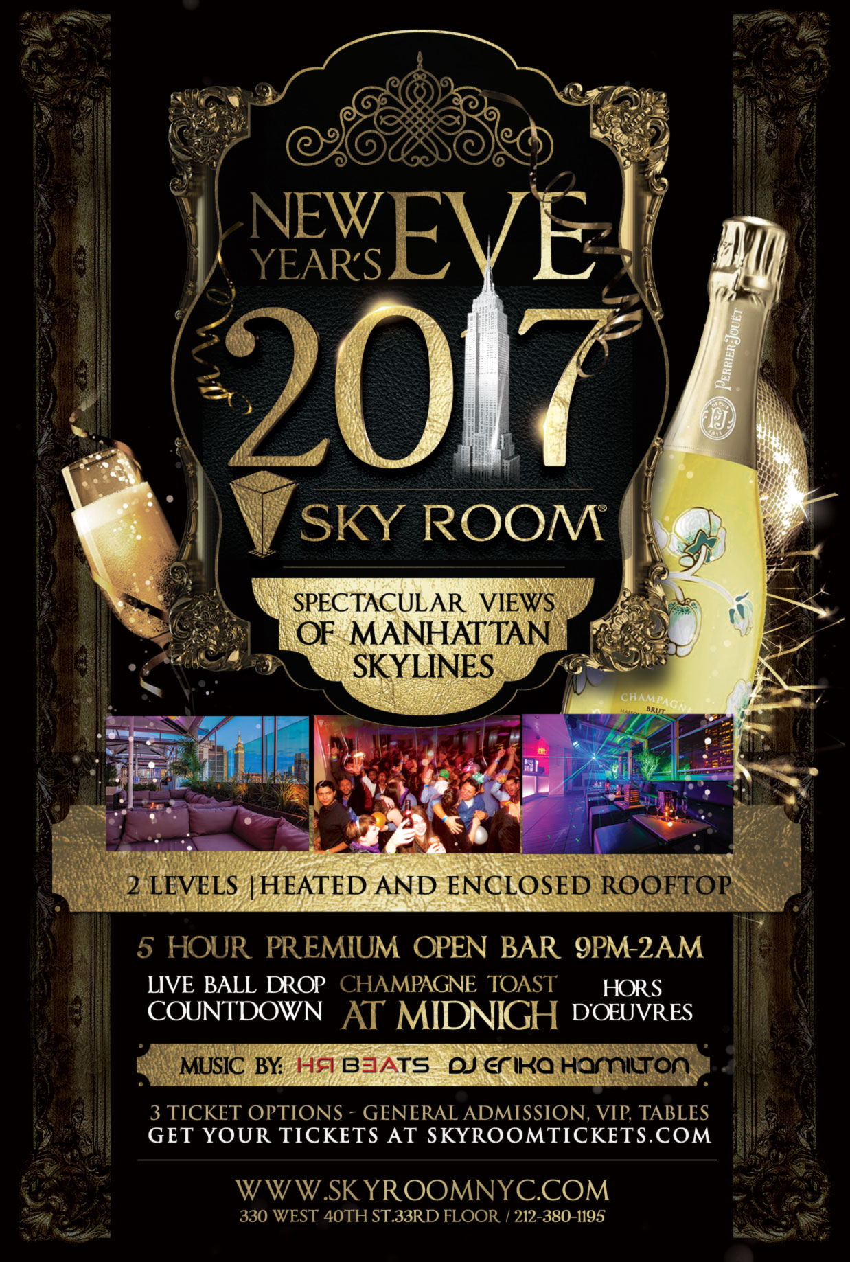 Sky Room Times Square New Years Eve 2017 At Sky Room