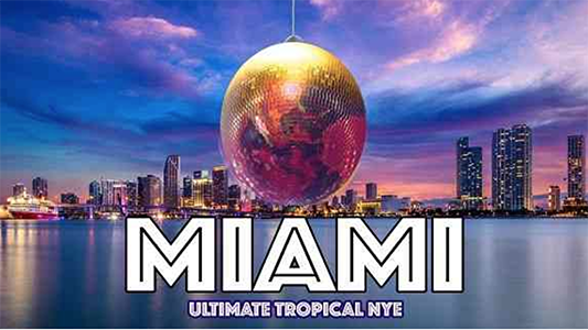 5th Annual Ultimate Tropical New Year's Eve Miami at Salsa Tuesday Happy Hour