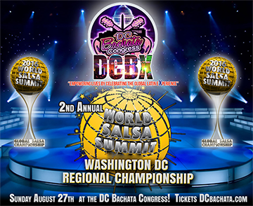 2nd Annual DC World Salsa Summit Regional Championship Presented by DCBX, Billy Fajardo, Nelson Flores & Katie Marlow