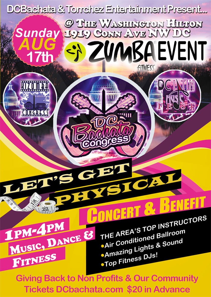 Let's Get Physical! Latin Fitness Concert