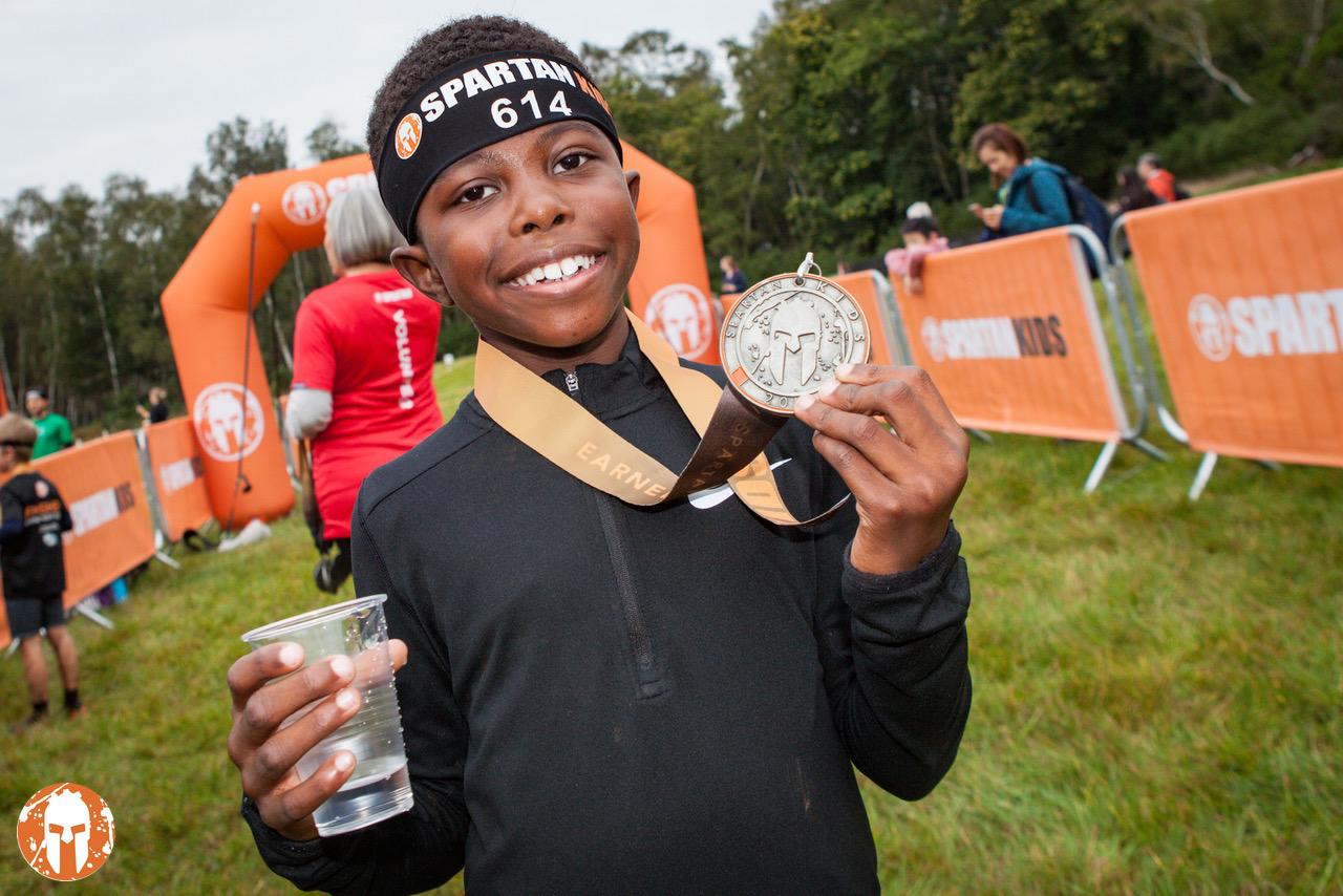 Midlands Spartan Kids Race 2020