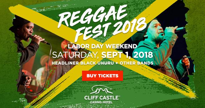 Reggae Fest 2018 (Labor Day Weekend)
