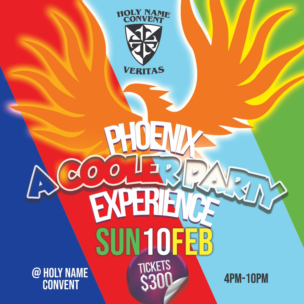Holy Name Convent, Port of Spain Presents Phoenix - A Cooler Party Experience.