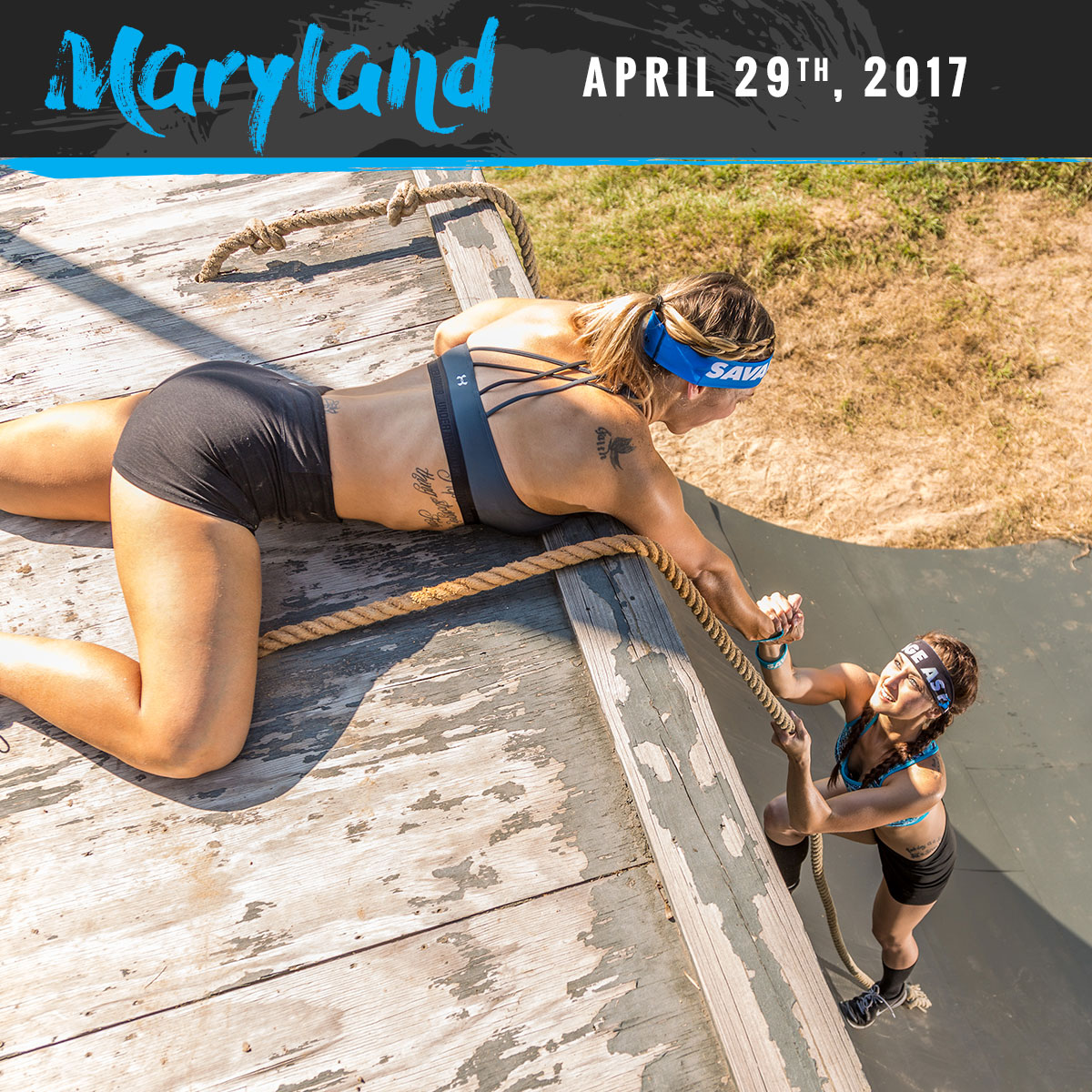 Savage Race Maryland Spring 2017