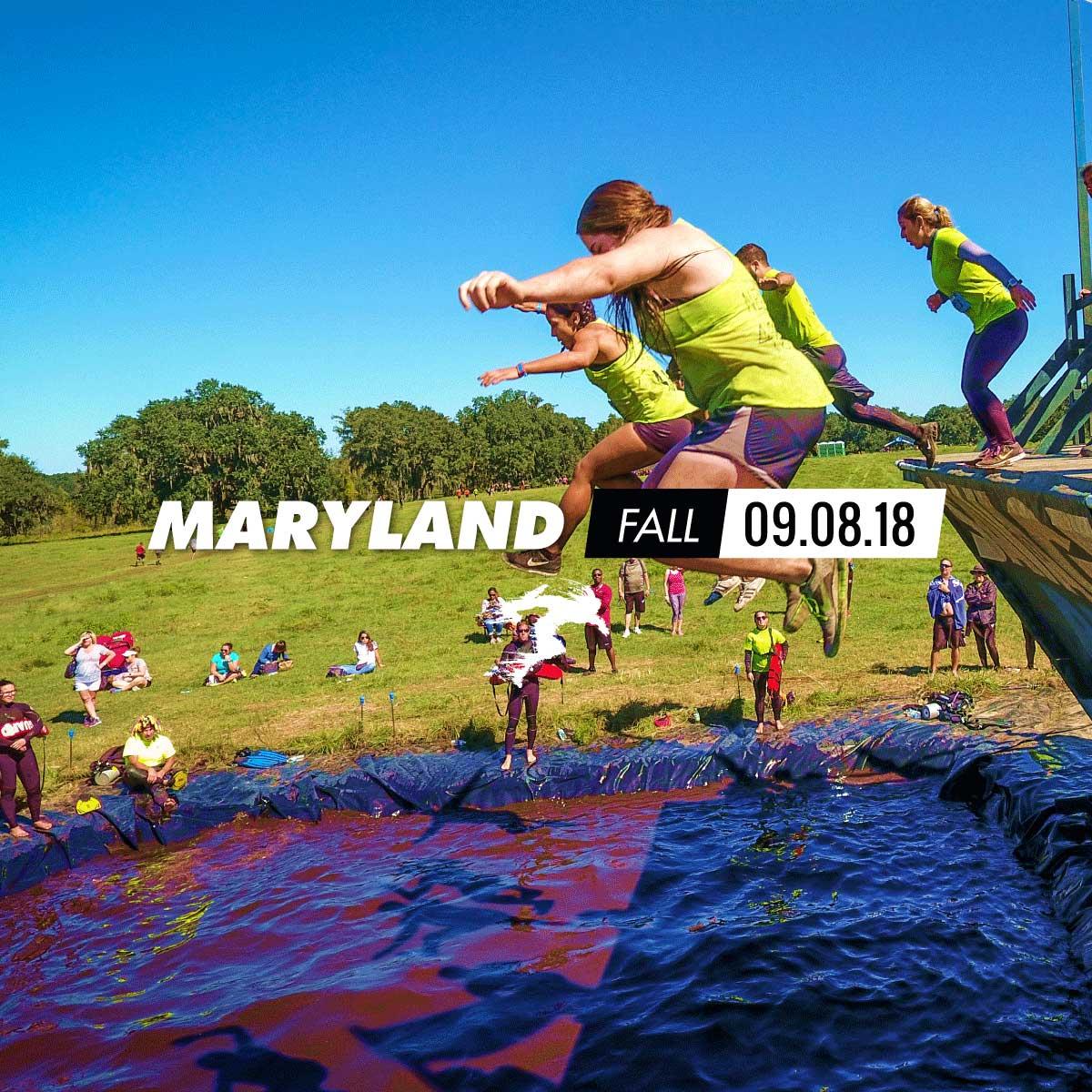 Savage Race Maryland Fall 2018