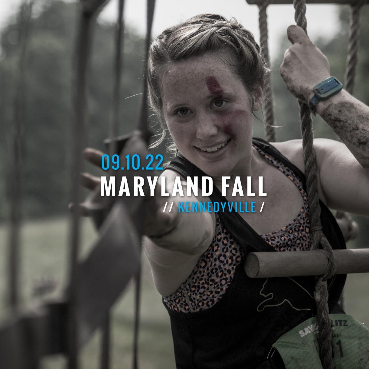 Savage Race Maryland Fall 2022