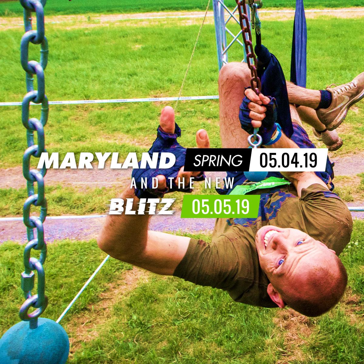 Savage Race Maryland Spring 2019