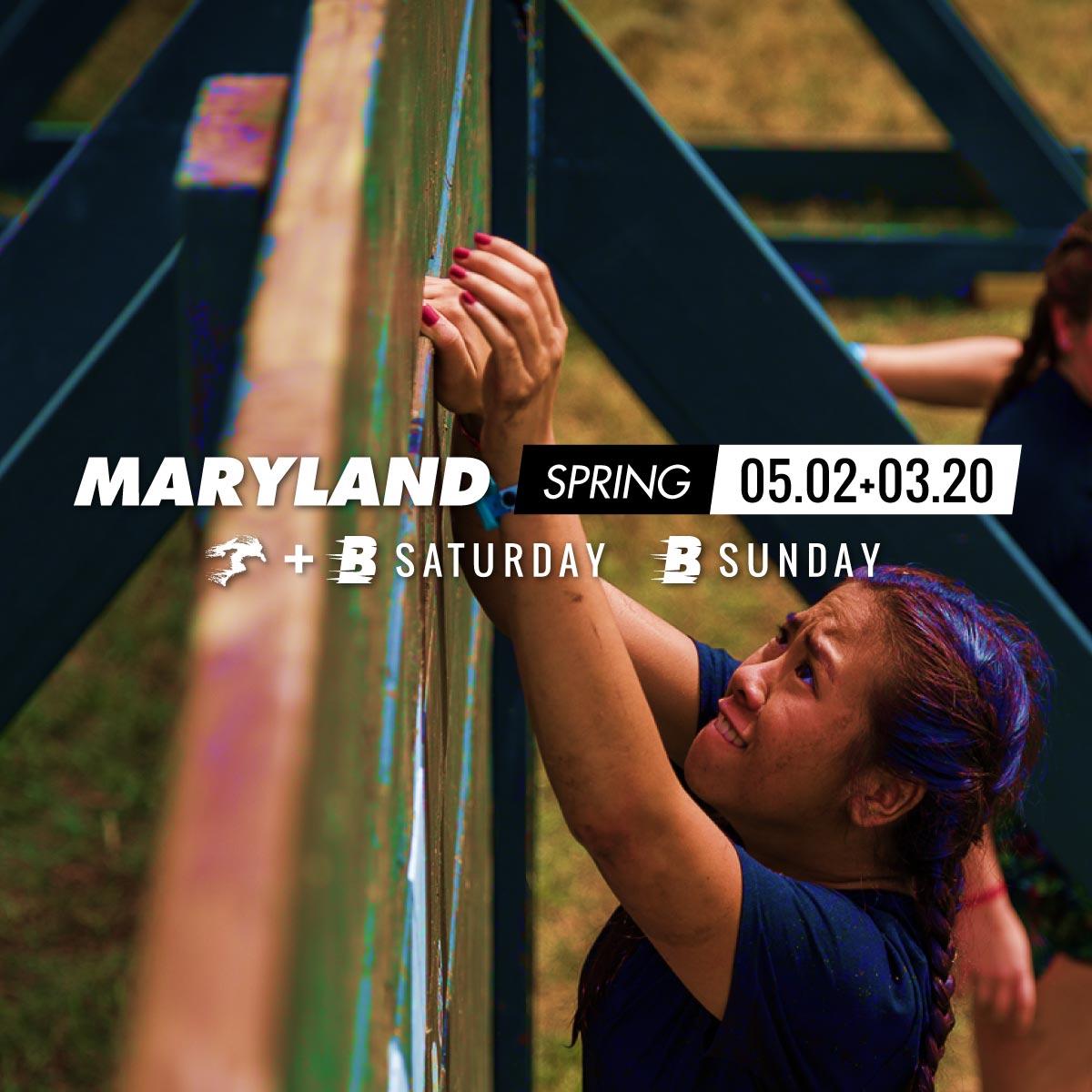 Savage Race Maryland Spring 2020