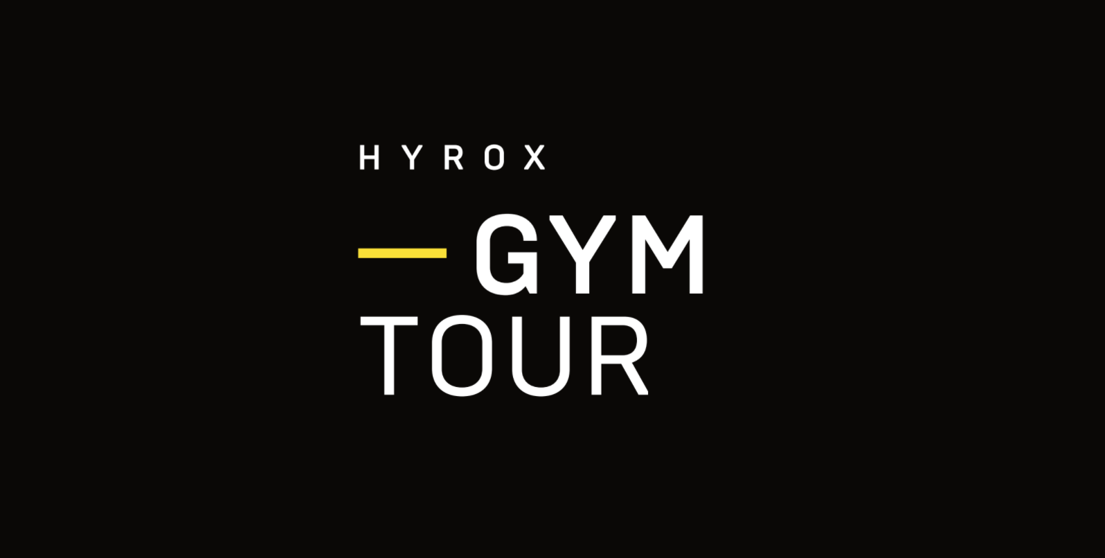 HYROX Gym Tour - Frankfurt