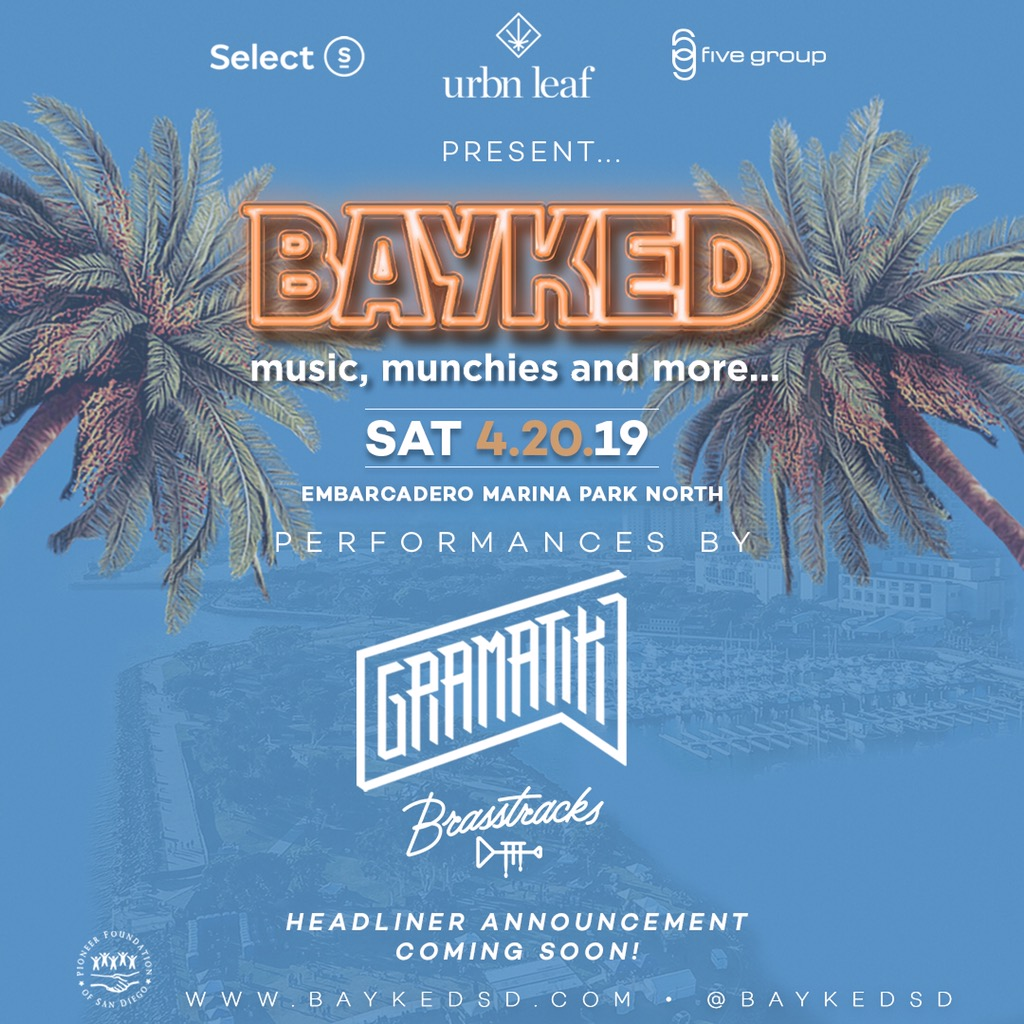Bayked Festival 2019 on Saturday April 20th.