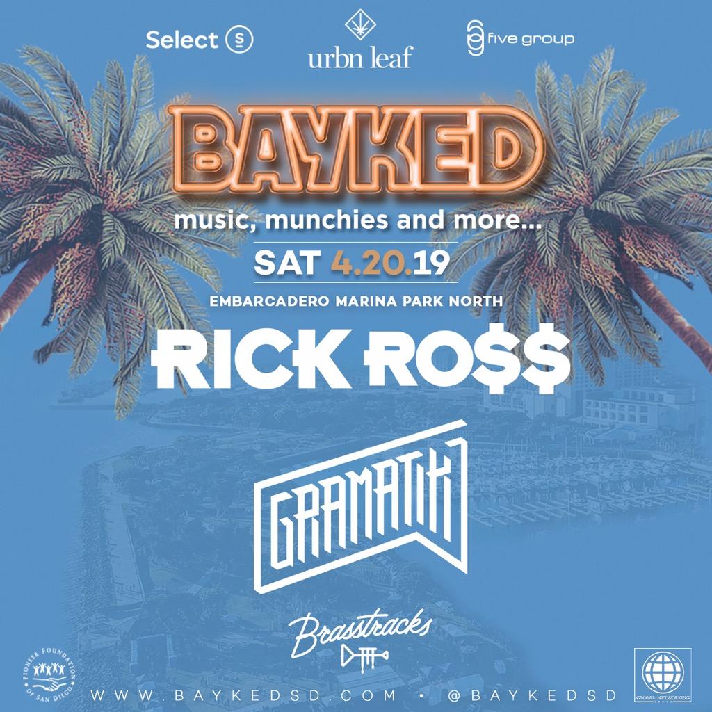 Bayked Festival 2019 Ft. Rick Ross, Gramatik, Brasstracks and other artists