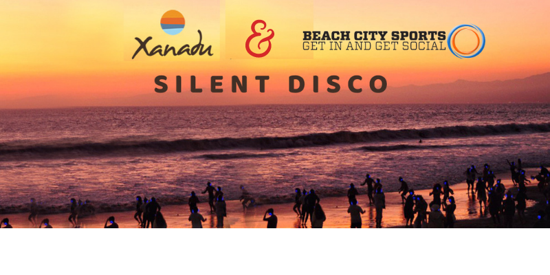 Sunset Silent Disco Beach Party : Friday, July 9th