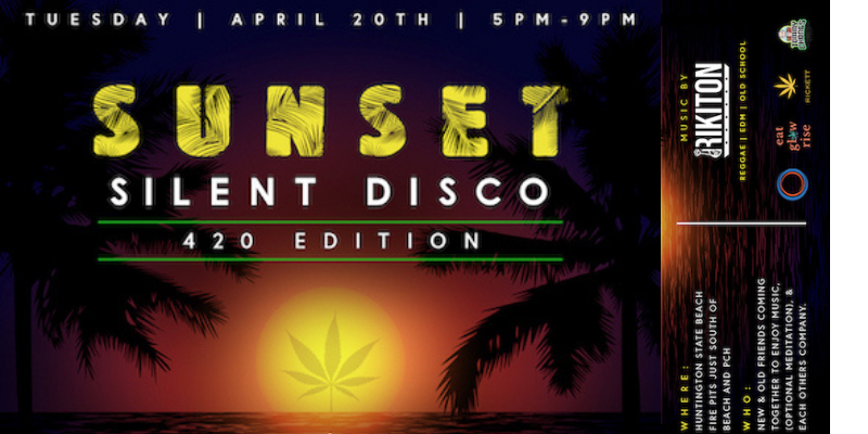 4/20 Sunset Silent Disco