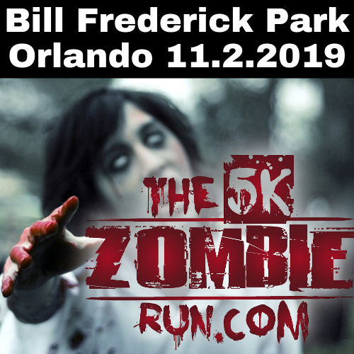 The 5k Zombie Run Orlando 11.2.2019