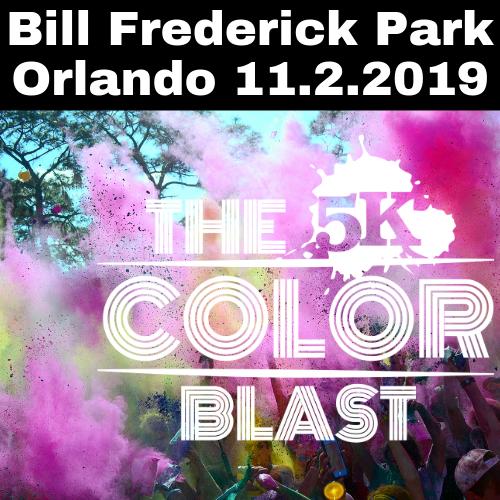 The 5k Color Blast Orlando 11.2.2019
