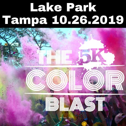 The 5k Color Blast Tampa 10.26.2019