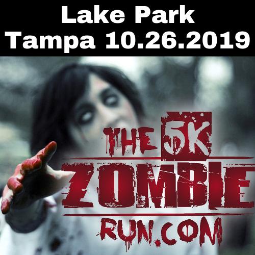 The 5k Zombie Run Tampa 10.26.2019