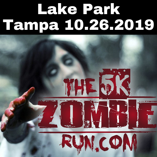 The 5k Zombie Run Tampa 10.26.2019