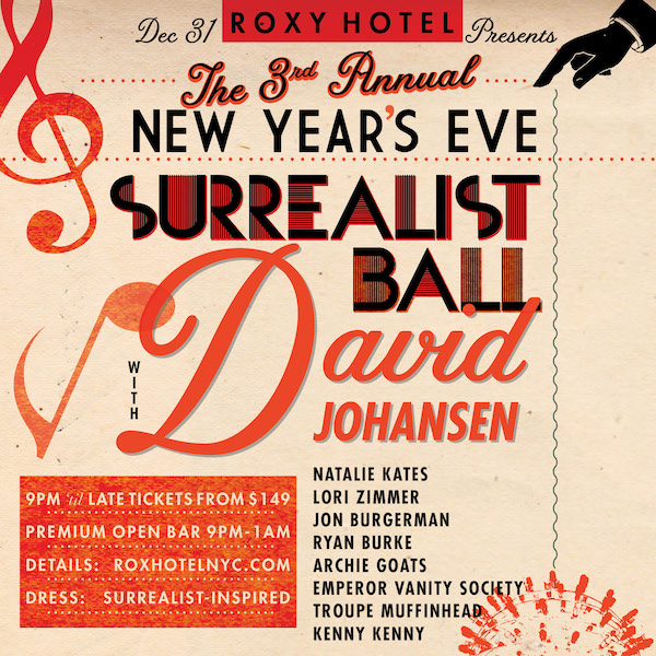 The Roxy Presents: The Surrealist Ball 2018