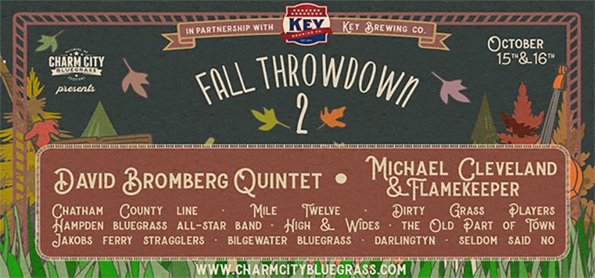 Charm City Bluegrass: Fall Throwdown 2