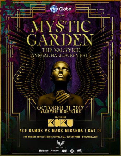 Mystic Garden: The Valkyrie Annual Halloween Ball feat. Kaku